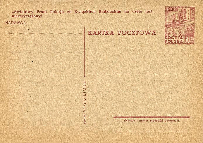 Cp 136 wydanie 3) z napisem propagandowym nr 19