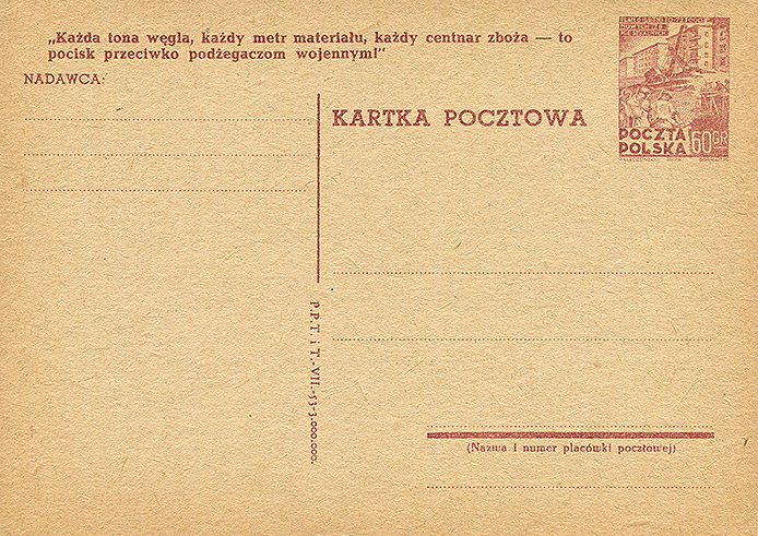 Cp 136 wydanie 3) z napisem propagandowym nr 20b