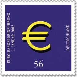 Pierwszy niemiecki znaczek nominowany w Euro